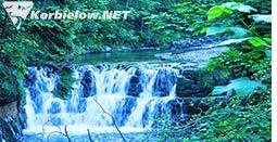 korbielów atrakcje wodospad