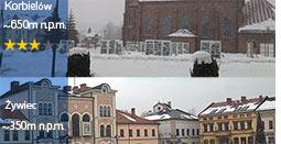 korbielów dużo sniego