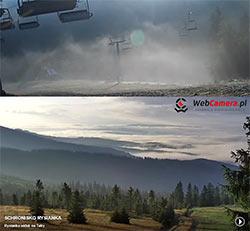korbielów mgła