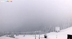 pada śnieg pilsko