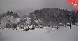 korbielów pada snieg