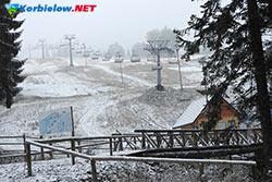 korbielów pierwszy śnieg